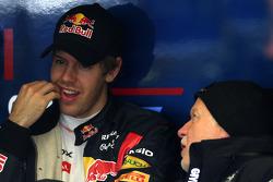 Norbert Vettel, Father of Sebastian Vettel and Sebastian Vettel, Red Bull Racing