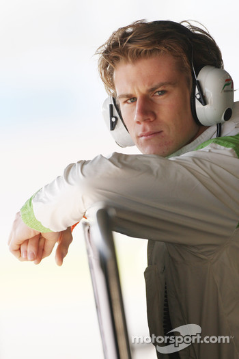 Nico Hulkenberg, Force India F1, Test Driver