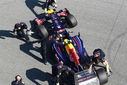 Mark Webber, Red Bull Racing  detail