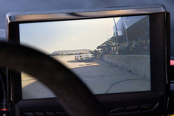 #002 Extreme Speed Motorsports Ferrari F458 GTC inside rear view monitor