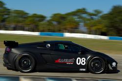 #08 West Yokohama Racing Lamborghini Gallardo LP560-4: Nicky Pastorelli, Dominik Schwager