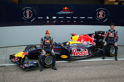 Sebastian Vettel, Red Bull Racing and Mark Webber, Red Bull Racing