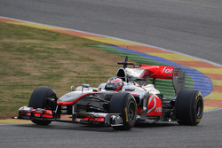 Gary Paffett, Test Driver, McLaren Mercedes in last years car