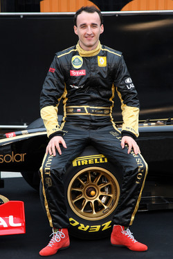 Robert Kubica, Lotus Renault GP in 2011 prior to the rally event crash