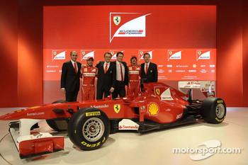 The Ferrari Formula One team