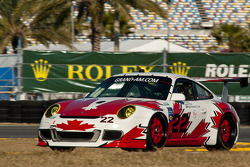 #22 Bullet Racing Porsche GT3: Eric Lux, Darryl O'Young, James Walker, Brian Wong