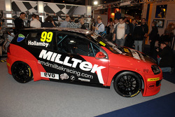 Shaun Hollambys 2011 BTCC AmD Miltek VW Golf