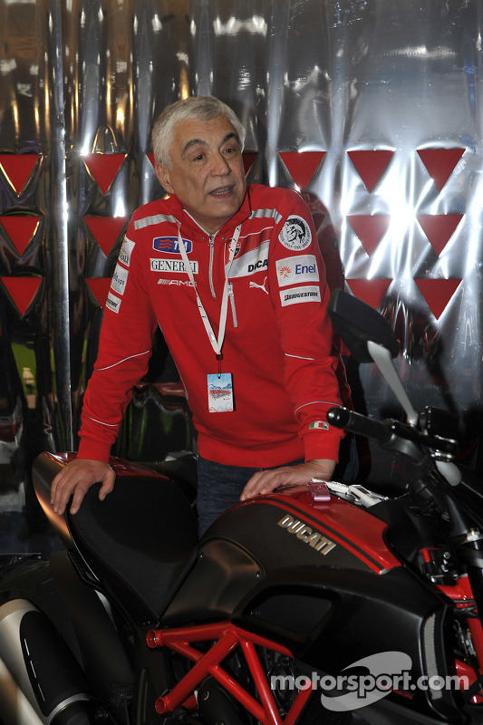 Gabriele Del Torchio, Ducati president with the Ducati Diavel Carbon