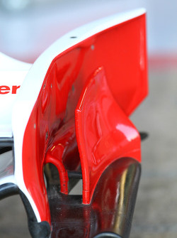 Ferrari front wing end plate