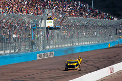 David Ragan, Roush Fenway Racing Ford crashes