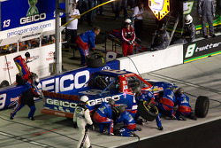 Pit stop for Max Papis, Germain Racing Toyota