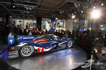 The 2011 Peugeot 908