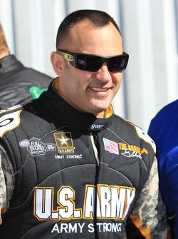 Top Fuel Driver Tony Schumacher