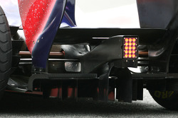 Scuderia Toro Rosso technical detail of the rear