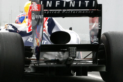 Red Bull Racing technical detail of the rear