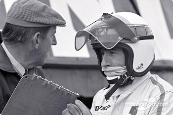 Ken Tyrrell and Jackie Stewart
