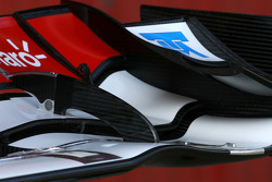 Front wing detail