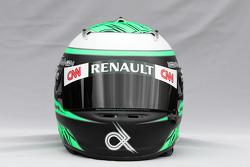Helmet of Heikki Kovalainen, Team Lotus