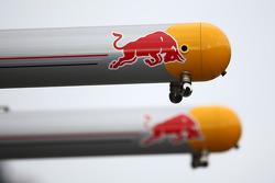 Red Bull pit gantry