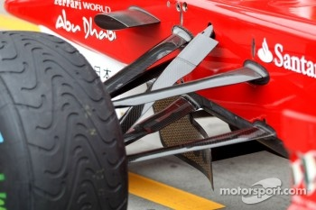 Scuderia Ferrari, technical detail, front suspension