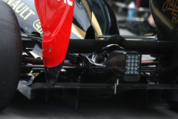 Lotus Renault GP, technical detail, diffusor
