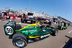 Car of E.J. Viso, KV Racing Technology-Lotus