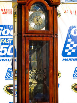 Victory lane: the traditional winning trophy at Martinsville