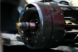 Lotus Renault GP, Technical detail rear brake system