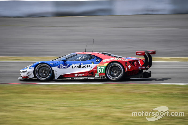 7. GTE-Pro: #67 Ford Chip Ganassi Racing Team UK, Ford GT: Marino Franchitti, Andy Priaulx, Harry Tincknell