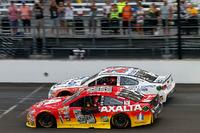 NASCAR Sprint Cup Foto - Jeff Gordon, Hendrick Motorsports Chevrolet, Tony Stewart, Stewart-Haas Racing