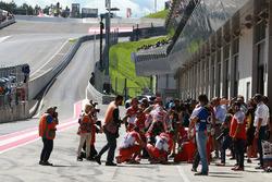 In der Boxengasse: Andrea Dovizioso, Ducati Team