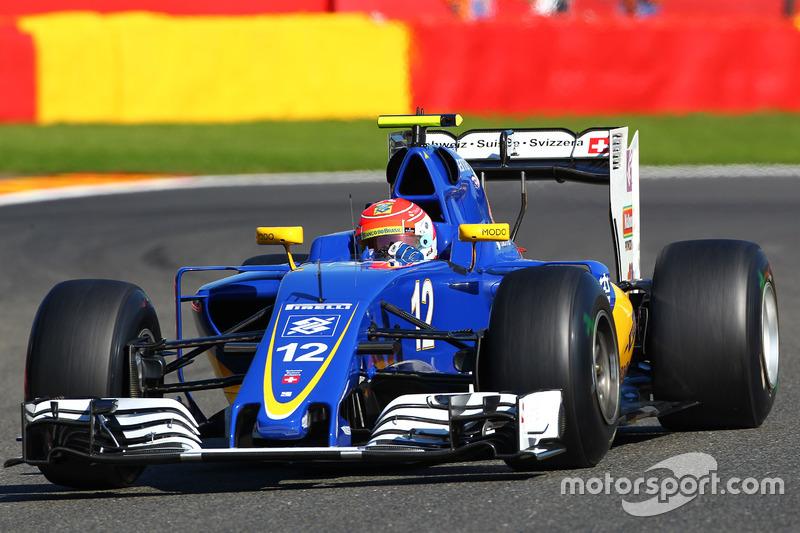 16. Felipe Nasr, Sauber C35