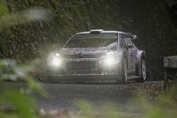 Citroën C3 WRC 2017 tarmac testing
