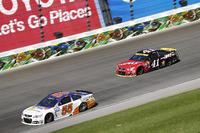 NASCAR Sprint Cup Photos - Reed Sorenson, Premium Motorsports Chevrolet, Kurt Busch, Stewart-Haas Racing Chevrolet