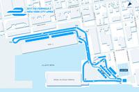 Формула E Фото - Схема трассы в Нью-Йорке