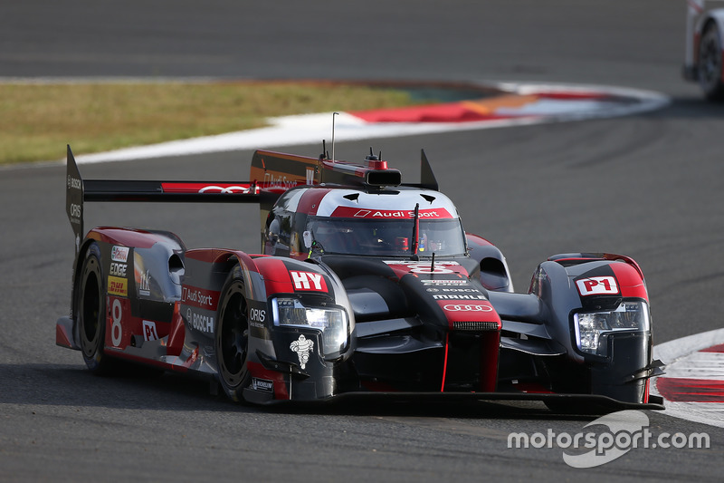 1. LMP1: #8 Audi R18: Lucas di Grassi, Loic Duval, Oliver Jarvis
