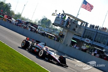 Will Power, Team Penske takes the checkered flag