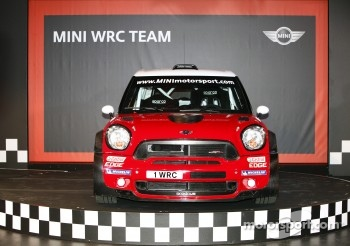 The MINI John Cooper Works WRC