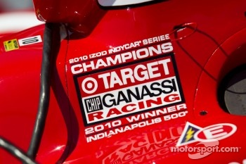 Car detail, Dario Franchitti, Target Chip Ganassi Racing