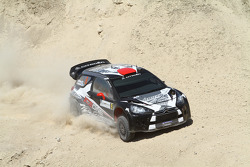 Kimi Raikkonen and Kaj Lindstrom, Citroën DS3 WRC, ICE 1 Racing