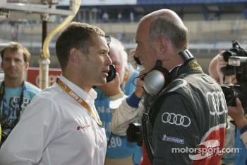 Tom Kristensen and Dr. Wolfgang Ullrich