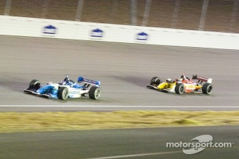 Paul Tracy and Sébastien Bourdais fight for the lead