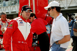 Jimmy Vasser and Michel Jourdain