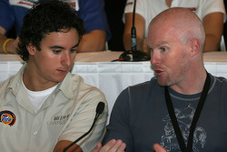 Pre-event press conference: Andrew Ranger and Paul Tracy