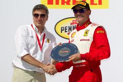 F430 podium: second place Ryan Ockey