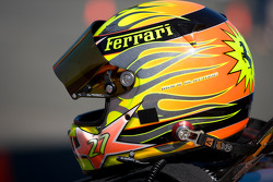 Helmet of #27 Ferrari of Houston Ferrari 458 Challenge: Mark McKenzie