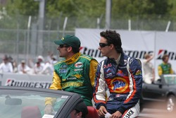 Alex Tagliani and Andrew Ranger