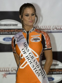 Podium: a lovely Face of Champ Car girl