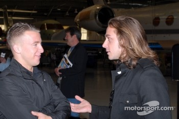 A.J. Allmendinger and Nelson Philippe