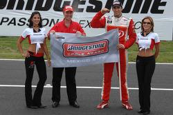 Pole winner Justin Wilson